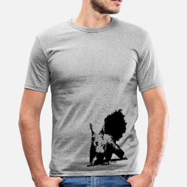 Squirrels Baum Squirrel - Männer Slim Fit T-Shirt