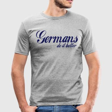germans do it better - Männer Slim Fit T-Shirt
