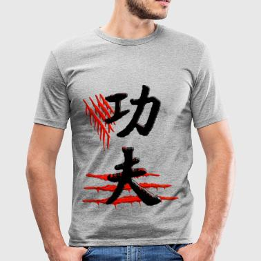 Kungfu - Männer Slim Fit T-Shirt