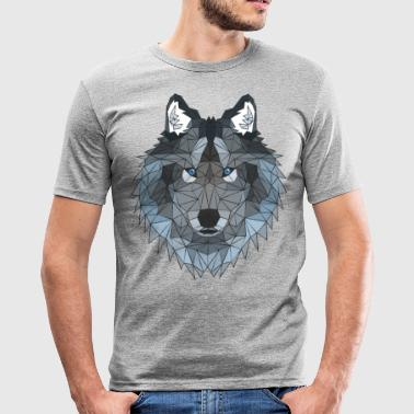poly Wolf - slim fit T-shirt