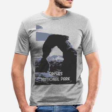 Nationaal Park Arches National Park - slim fit T-shirt