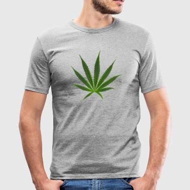 Sativa cannabis Sativa - Men's Slim Fit T-Shirt