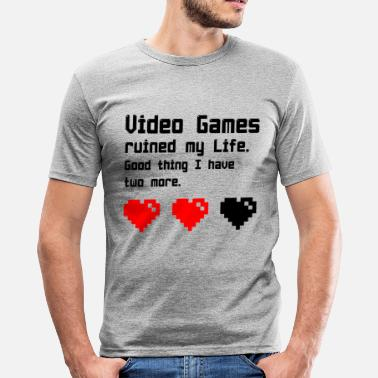 Video video Games - slim fit T-shirt