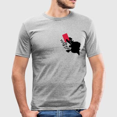 arbitre rulez / referee rulez (2c) - Tee shirt près du corps Homme