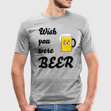 Bier - Männer Slim Fit T-Shirt
