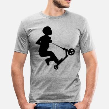 Trottinette Adulte Freestyler - T-shirt près du corps Homme