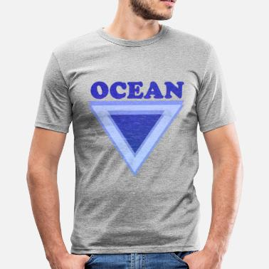 Summer Ts & Tanks Ocean - Men's Slim Fit T-Shirt