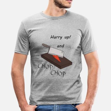 Chopper Chop Chop - Slim fit T-shirt mænd