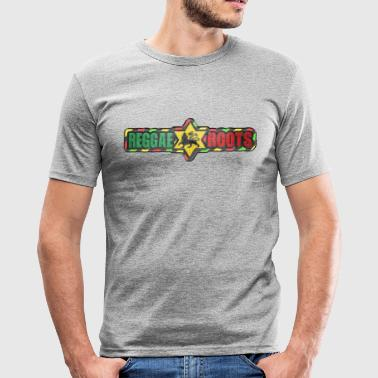 reggae roots - Men's Slim Fit T-Shirt