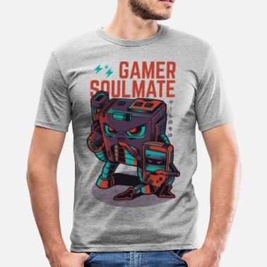 Gamer gamer Soulmate - slim fit T-shirt