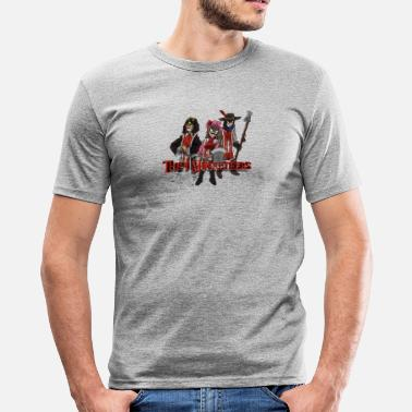 Musketeers 3 Musketeers - Men's Slim Fit T-Shirt
