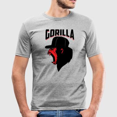 Cappi Gorilla Monkey Cappy Sport T-Shirt - Men's Slim Fit T-Shirt