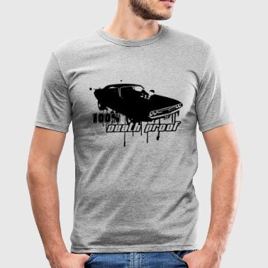 100% Death Proof - Männer Slim Fit T-Shirt
