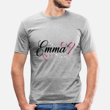 First Name Emma name first name - Men's Slim Fit T-Shirt