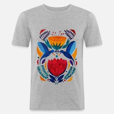 Diseño Colorido Amantes Camiseta Hombre Étnico Premium Spreadshirt d5nfw8x6qf