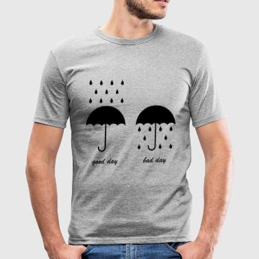 Good day, bad day - T-shirt près du corps Homme