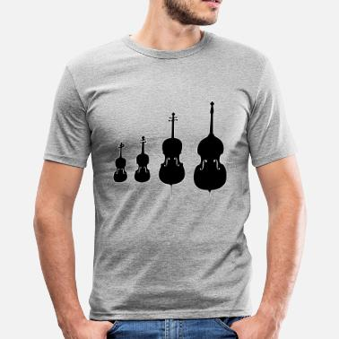 String strings - slim fit T-shirt