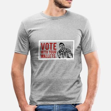 Vote No VOTE. - Men's Slim Fit T-Shirt