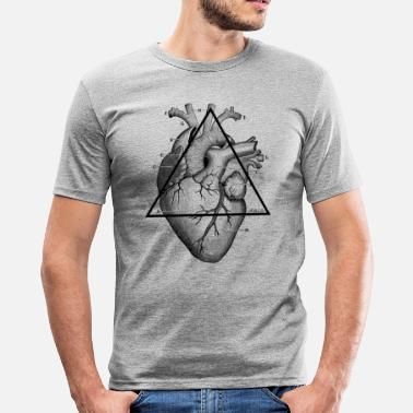 My Heart My Heart, my Heart! - Men's Slim Fit T-Shirt