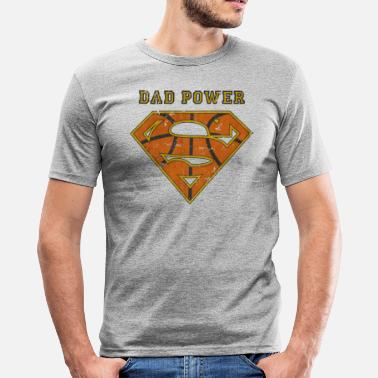 Dad Superman Superman Super Dad Power - slim fit T-shirt