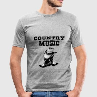 country music - Slim Fit T-shirt herr