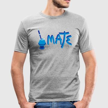 Mate Argentino - Men's Slim Fit T-Shirt