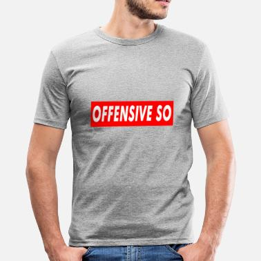 Offensiv Offensive So - Herre Slim Fit T-Shirt