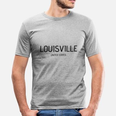 Louisville Louisville - Männer Slim Fit T-Shirt