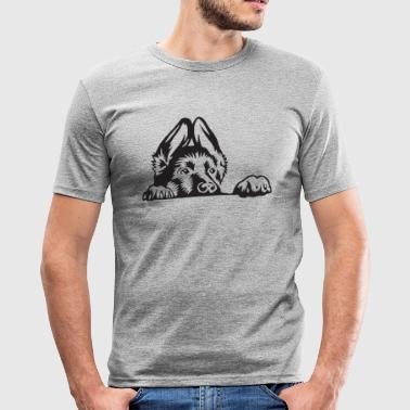 schæferhund - Herre Slim Fit T-Shirt