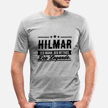 Hilma Man Myth Legend Hilmar - Slim fit T-skjorte for menn