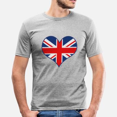 Uk J'AIME UK - T-shirt moulant Homme