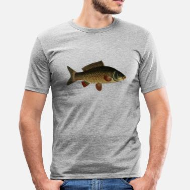 Carpe Poisson carpe de poissons - T-shirt moulant Homme
