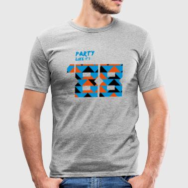 Party like it's '88 - Eighties - slim fit T-shirt