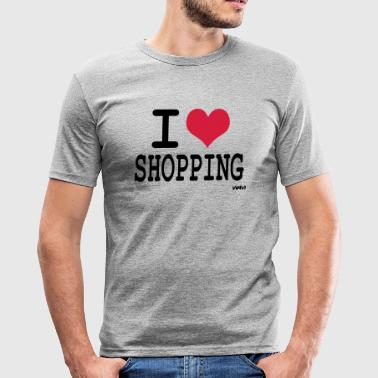 i love shopping by wam - Camiseta ajustada hombre