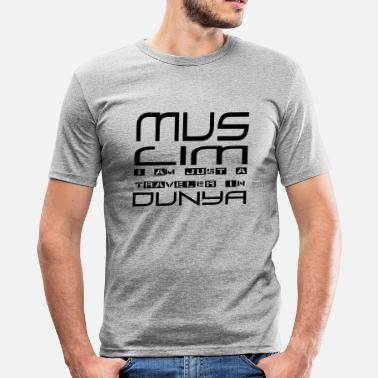 Dunya Traveler in Dunya - Men's Slim Fit T-Shirt