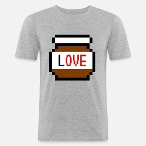 id e de cadeau d 39 amour de pixel de chocolat nourriture savoureuse de er1k99 spreadshirt. Black Bedroom Furniture Sets. Home Design Ideas