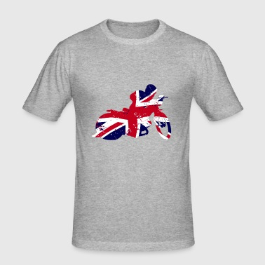 Speedway - Union Jack - Men's Slim Fit T-Shirt