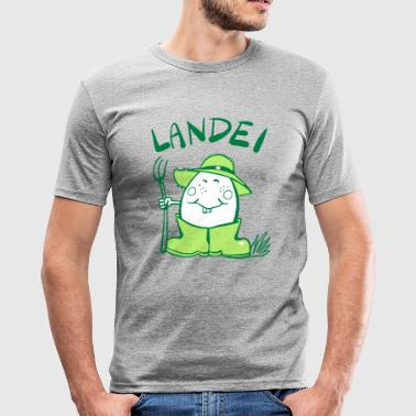 Landei - Männer Slim Fit T-Shirt