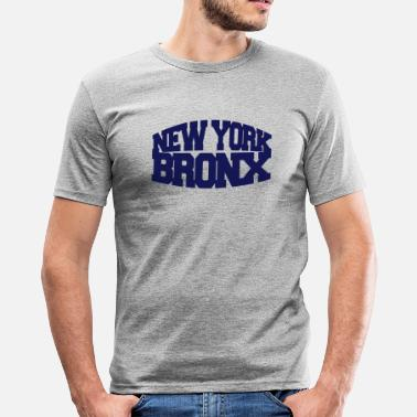 Bronx new york bronx - Männer Slim Fit T-Shirt