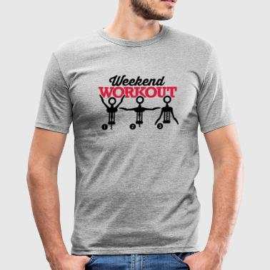 Weekend workout corkscrew - T-shirt près du corps Homme