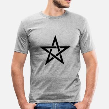 Duivel Pentagram - slim fit T-shirt