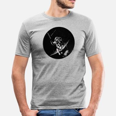 FINAL GRAVITY CIRCLE - Men's Slim Fit T-Shirt