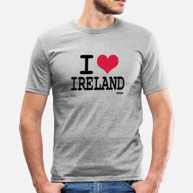 I Love Ireland i love ireland by wam - Slim Fit T-shirt herr