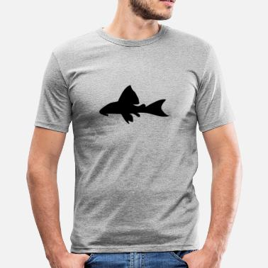 Sucker American Catfish - Men's Slim Fit T-Shirt