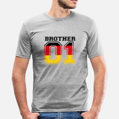 Brother brother brother 01 king Germany - Men's Slim Fit T-Shirt