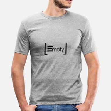 Lege leeg - slim fit T-shirt
