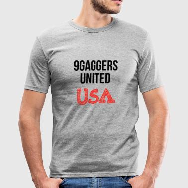 9gagger USA - Herre Slim Fit T-Shirt