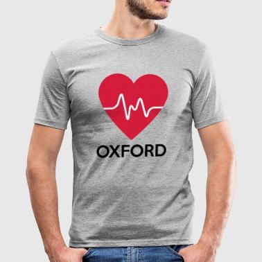 Oxford hjerte Oxford - Slim Fit T-skjorte for menn