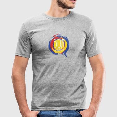 Catalonia saying gift independence Puigdemon - Men's Slim Fit T-Shirt
