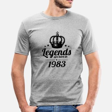 Legend Legends 1983 - Slim Fit T-shirt herr
